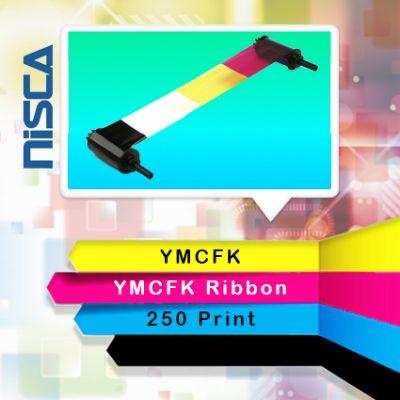 ریبون رنگی YMCFK پرینتر نیسکا
