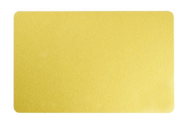 کارت پی وی سی طلائی اروپایی